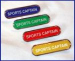 SPOSRTS CAPTAIN - BAR Lapel Badge